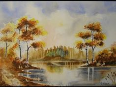 Paint Watercolours With Colin Walters ...... Autumn Glow