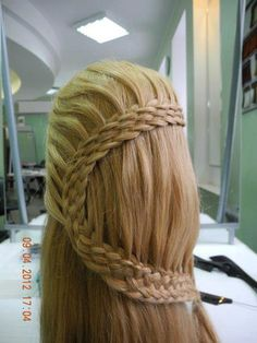 I thought I was a good braider, then I saw this and hung my head in shame.