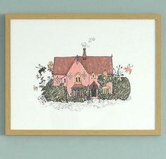 Cottage print - Sian Zeng