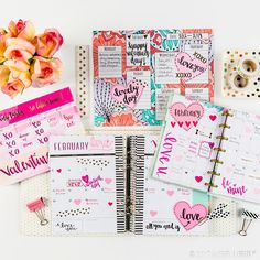 Show your planner some love with cute washi, decorative stickers and more!