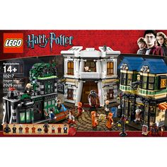 LEGO Harry Potter Diagon Alley. I need this.