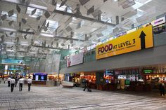 Changi Airport in Singapore has many comfortable ways to pass the time and enjoy your stay.  www.traveladept.com