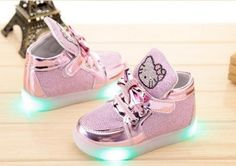 Toddler Hello Kitty Light Up Shoes
