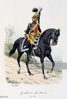 'Gendarmes des Chasses'181530 Histoire de la Maison Militaire du Roi de 18141830 volume 2