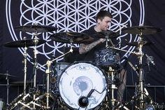Matt Nicholls of Bring Me The Horizon Warped Tour 2013
