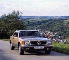 Mercedes-Benz 380SEC (W126) by Auto Clasico, via Flickr