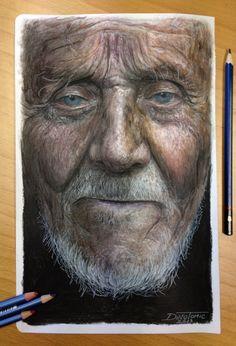 Color Pencil Portraits - 08