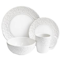 16 Piece Josie Dinnerware Set
