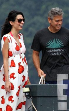 Inside George Clooney and Amal Alamuddin& Lake Como Wedding Prep . George Clooney Wedding, George Clooney Amal Alamuddin, Celebrity Gossip, Celebrity Style, Wedding Prep, Mommy Style, Maternity Fashion, Love Fashion, Celebs