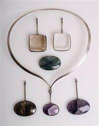 Necklace with five various pendants by Vivianna Torun Bülow-Hübe