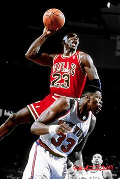 Michael Jordan dunks ball over Patrick Ewing Michael Jordan Dunking, Michael Jordan Pictures, Michael Jordan Photos, Michael Jordan Chicago Bulls, Michael Jordan Basketball, Nba Pictures, Basketball Pictures, Charlotte Hornets, Mvp Basketball