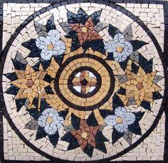 "14x14"" Accent Marble Mosaic Art Tile Home Decor by Mozaico, http://www.amazon.com/dp/B003CGMOZS/ref=cm_sw_r_pi_dp_sywRpb13KMT63"
