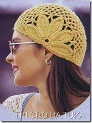 Crocheted beanie with ear flower Crochet Flower Hat, Crochet Adult Hat, Crochet Cape, Crochet Shoes, Crochet Beanie, Crochet Clothes, Knit Crochet, Granny Square Häkelanleitung, Granny Square Crochet Pattern
