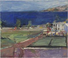 Richard Diebenkorn (American, Bay Area Figurative Movement, 1922–1993): Prisoners' Harbor, Santa Cruz Island, 1961.