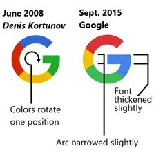 """Exclusive: Google's """"New"""" Search Icon Was Created in 2008 by Russian Designer"""