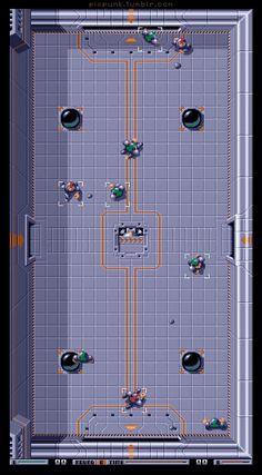 PP. Arena. Speedball (1988) Amiga Cyberpunk Movies, Cyberpunk Games, Low Poly Models, Retro Video Games, School Games, Game Dev, Indie Games, Game Design, Pixel Art