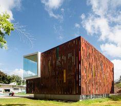 Bambu Çitlerin Esinlenerek Cephe ile eski Bina Yenileme – GELM Ek | Ev, Bina, Mobilya ve İç Tasarım Fikirleri