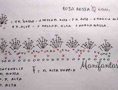 Come fare le rose all'uncinetto arrotolate: schemi e tutorial - manifantasia Sunburst Granny Square, Crochet Flowers, Projects To Try, Math, Crochet Ideas, Ideas, Roll Ups, Sanitary Napkin, How To Make