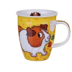 Fluffy Friends Guinea Pig Nevis shape Mug - Browse All - Dunoon - Shop by Brand | TemptationGifts.com