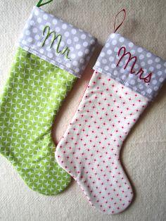 Christmas stockings by Elena @ Breakfast for Dinner, via Flickr