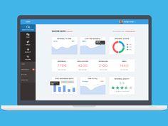 Recruiter analytics dashboard by uǝɥdʎɐɾ