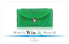 Enter to win a classic MeDusa clutch valued at $110.00 Cdn. Ends: 11/15/2014  Enter: www.formoi.ca #giveaway #win