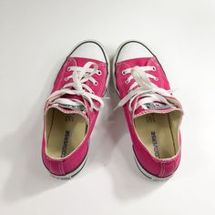 Girls pink converse chuck Taylor all star chucks low top shoes size 3 youth   fashion 912a9fcae