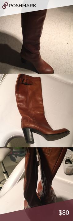 Migliorini boots Italian boots with buckles ,migliorini ,wore not many times ,color  camel Shoes Heeled Boots