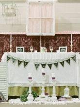 Vintage Handmade Wedding Decor