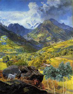 VAL, D'AOSTA.(1858) by John Brett