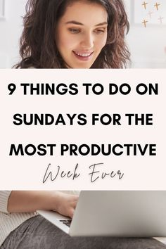 Things you should do every Sunday to have a productive and better week, things to do on Sunday when bored, things to do on Sunday posts, awesome things to do on Sunday for a better week, tips to simplify your life and bring about massive improvement in the output of your week