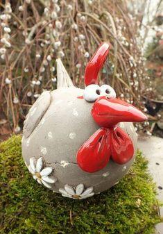 Pottery Animals, Ceramic Animals, Ceramic Birds, Clay Animals, Ceramic Pottery, Ceramic Art, Clay Art Projects, Ceramics Projects, Polymer Clay Projects