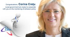 Congratulations, Corina Creţu we look forward to working with you bit.ly/1f9Re7x