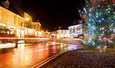 Holt, Norfolk - 10 of the best small UK towns for winter breaks Christmas Breaks, Winter Christmas, Christmas Lights, Holt Norfolk, Winter Breaks, Light Trails, Modern Restaurant, Brick And Mortar, Weekend Breaks