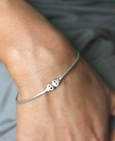 baby skull bracelet :: michelle chang jewelry