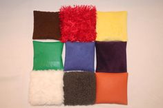 make texture pillows for young children as sensory toys. Great for infants, toddlers, preschool and any child who needs sensory therapy.