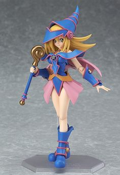 Pre-Order Release Date: January 2017 The cute magician girl is joining the figma series! From the popular anime series 'Yu-Gi-Oh!' comes a figma of Yugi Muto's close companion, the Dark Magician Girl!