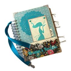 Handmade Personalized Blank Recipe Book by PreciousLifeMoments