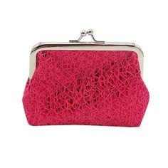 Send It Slogan Ladies Zero Wallet Coins Alter Purse Zipper Key Totes Simple Style
