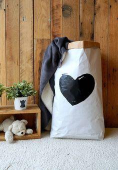 VENTA  corazón forma  bolsa de almacenamiento de por MoNatAndBag