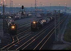 RailPictures.Net Photo: CSXT 8469 CSX Transportation (CSXT) EMD SD40-2 at Willard, Ohio by Robert Butler