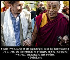 Eckhart Tolle and the Dalai Lama