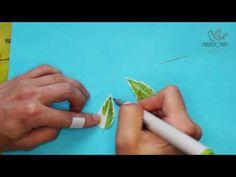 Веточки из зефирного фоамирана - YouTube