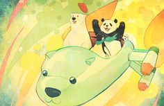Shirokuma Cafe / Polar Bear's Cafe || anime