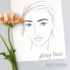 Beauty Tip: A glossy brow is ideal for playing with a naturally full brow. Here you can use either a Pencil or Brow Gel to fill in any sparse areas of yout brow. Then using Clear Brow Fix Gel you can add a little sheen and dimension by brushing the gel up and out with the Spooli wand. This will create that full lustrous brow that everyone wants. #BrowTrend #BrowTip