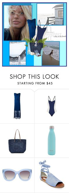 """Summer Breeze"" by krystalkm-7 ❤ liked on Polyvore featuring Hat Attack, S'well, Alice + Olivia and Steve Madden"