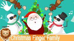 Christmas Finger Family Nursery Rhymes. Christmas Finger Family Song