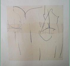 Pierre noire/papier 1990