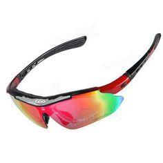 UV400 Protective Polarized Sports Bike Bicycle Goggles Sunglasses