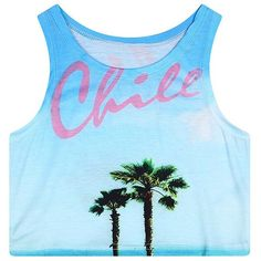 Women's Multi Digital Printed Crop Vest Tank Tops ($9.86) ❤ liked on Polyvore featuring tops, tank tops, vest tank top, blue vest, crop vest, cropped vest top and pineapple tank